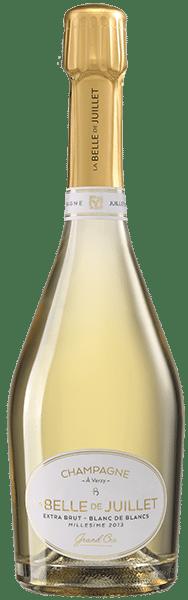 La Belle de Juillet - Extra Brut Blanc de Blancs - Millésime 2013 - 100% Chardonnay